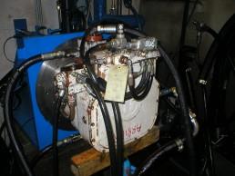 Démontage Expertise Réparation Remontage Essais sur banc d'une pompe hydraulique Pompe-Brueninghauss-A2V500